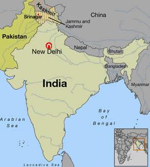Kashmir Region Map
