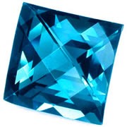 London Blue Topaz from GemSelect
