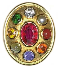 Nine Planetary Gemstones