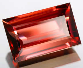 Orange Rose Zircon from Tanzania