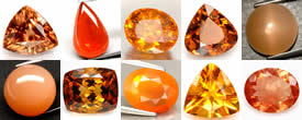 Buy Orange Gemstones from GemSelect