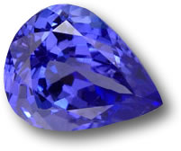 Stunning Pear Shaped Tanzanite