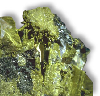 Pistachio Green Epidote Rough