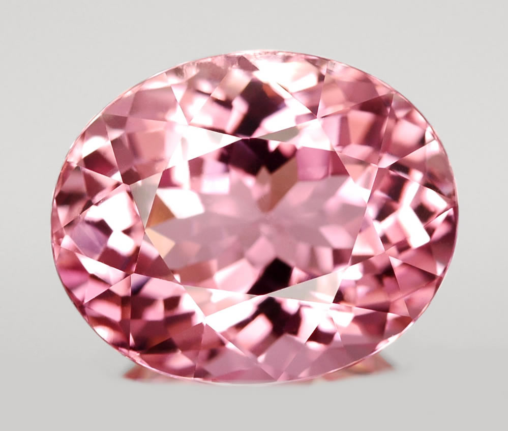 pink tourmaline gems