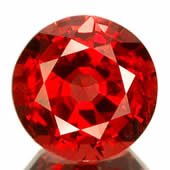 Red Spinel from Burma