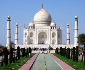 The Famous Taj Mahal in India