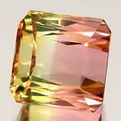 Bi-Color Tourmaline Gems