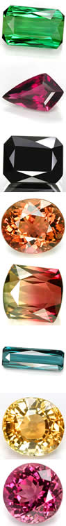 See the range of tourmaline colors at GemSelect