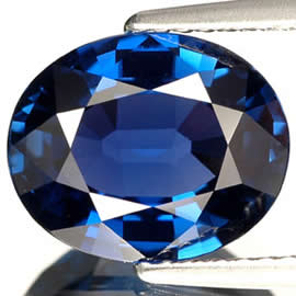 Unheated Blue Sapphire from Tanzania