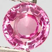 Unheated Pink Sapphire