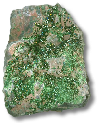 Uvarovite Rough