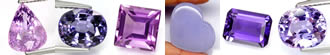 Natural Violet Purple Gemstones