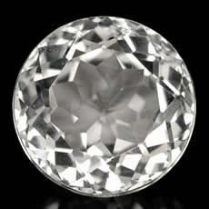 Natural White Topaz