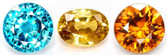 Zircon Gemstones at GemSelect