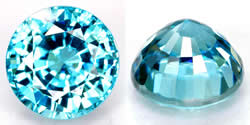 Round Cut Gemstones from GemSelect