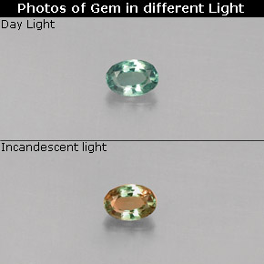 Buy 0.12 ct Green/Red Alexandrite 3.51 mm x 2.5 mm from GemSelect (Product ID: 280982)