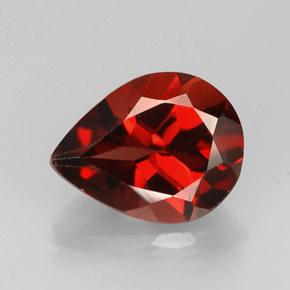 1 9 Carat Pear 9 2x7 1 Mm Almandine Garnet Gemstone