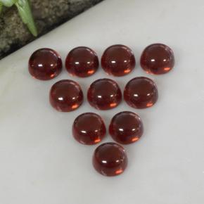 thumb image of 2.1ct Round Cabochon Red Almandine Garnet (ID: 467800)