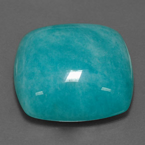 amazonite 23 4 carat cushion from brazil and