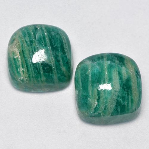 Rare- Amazonite cabochon Natural Amazonite Gemstone 36 X22mm Amazonite loose stone 51Cts.#685 Amazonite loose gemstone