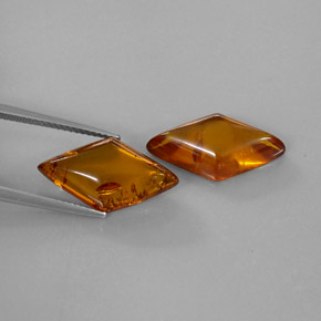 Buy 4.72ct Amber Amber 19.29mm x 10.47mm from GemSelect (Product ID: 282418)