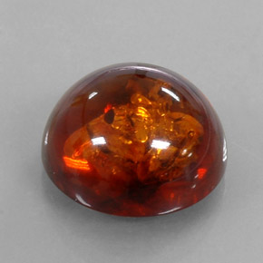 Buy 6.14ct Orange Amber 15.97mm  from GemSelect (Product ID: 311484)