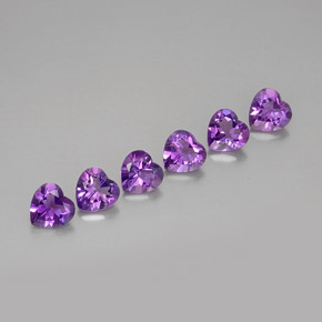 Buy 3.99 ct Violet Amethyst 6.23 mm x 6.1 mm from GemSelect (Product ID: 279034)