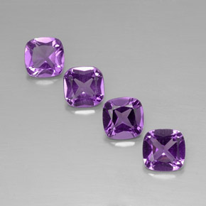 Buy 3.03 ct Violet Amethyst 6.05 mm x 6 mm from GemSelect (Product ID: 318534)