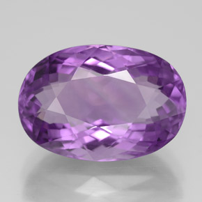 Buy 7.85 ct Violet Amethyst 15.50 mm x 10.8 mm from GemSelect (Product ID: 319413)