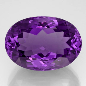 Buy 54.73ct Violet Amethyst 27.97mm x 19.82mm from GemSelect (Product ID: 327936)