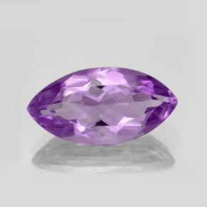 8.2ct Marquise Facet Intense Violet Amethyst Gem (ID: 351009)