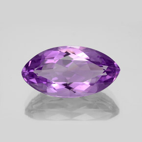6.5ct Marquise Facet Intense Violet Amethyst Gem (ID: 351403)