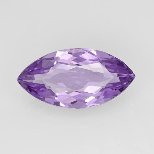 5.2ct Marquise Facet Deep Violet Amethyst Gem (ID: 352476)