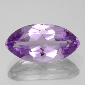 5.7ct Marquise Facet Pinkish Violet Amethyst Gem (ID: 352550)