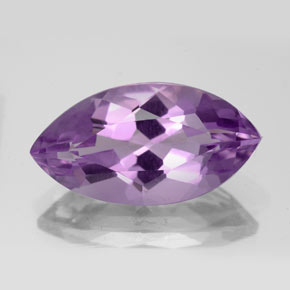 7ct Marquise Facet Deep Pinkish Violet Amethyst Gem (ID: 352672)