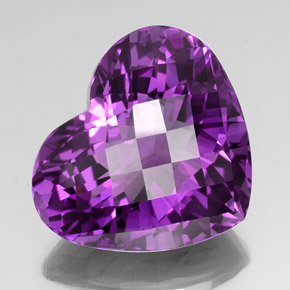 42 5ct Purple Amethyst Gem From Brazil Natural And Untreated