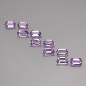 thumb image of 5.1ct Hexagon Cut Violet Amethyst (ID: 355227)