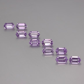 thumb image of 5.4ct Hexagon Cut Violet Amethyst (ID: 355229)