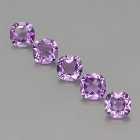 Violet Amethyst Gem - 0.9ct Cushion-Cut (ID: 356045)