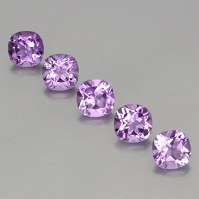 Buy 4.67 ct Violet Amethyst 6.17 mm x 6.2 mm from GemSelect (Product ID: 356049)