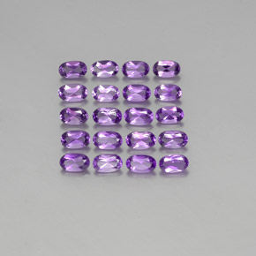 Violet Amethyst Gem - 0.2ct Oval Facet (ID: 356224)