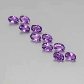 thumb image of 0.4ct Oval Facet Violet Amethyst (ID: 357447)