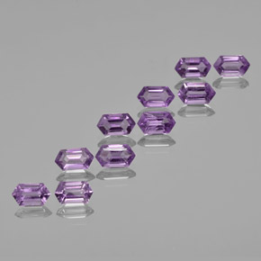 thumb image of 0.6ct Hexagon Cut Violet Amethyst (ID: 370666)