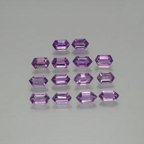 thumb image of 7.2ct Hexagon Cut Violet Amethyst (ID: 370727)
