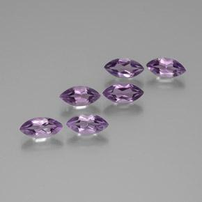 Violet Amethyst Gem - 1ct Marquise Facet (ID: 370862)