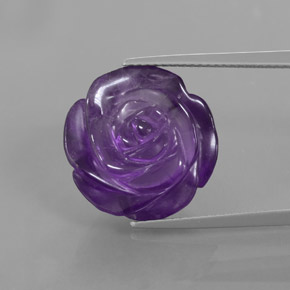 Buy 13.56 ct Violet Amethyst 16.70 mm x 16.5 mm from GemSelect (Product ID: 373370)