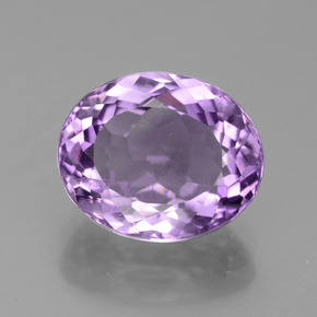 Violet Amethyst Gem - 3.8ct Oval Facet (ID: 436449)