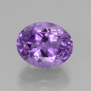 thumb image of 5.2ct Oval Facet Violet Amethyst (ID: 439806)