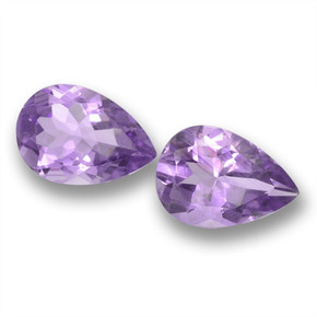 thumb image of 3.2ct Pear Facet Violet Amethyst (ID: 460224)