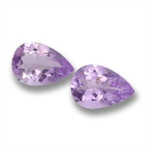Violet Amethyst Gem - 2.9ct Pear Facet (ID: 460259)